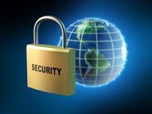Seguridad de datos ilustración del vector