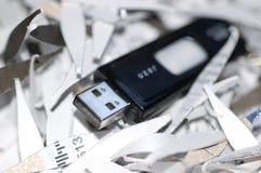 Seguridad de datos de Digitaces Fotografía de archivo