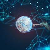 Seguridad de datos en el Internet libre illustration
