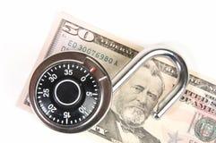 Seguridad de Finacial Fotos de archivo libres de regalías