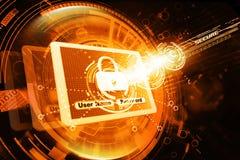 Seguridad de Internet foto de archivo libre de regalías