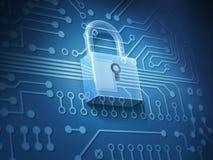Seguridad de Internet Foto de archivo