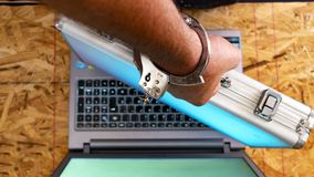 Seguridad de Internet y seguridad de datos foto de archivo