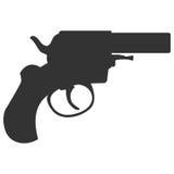 Seguridad de la arma de mano de la pistola y arma militar libre illustration