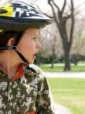 Seguridad de la bici imagen de archivo libre de regalías