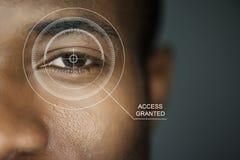 Seguridad de la exploración Imagen de archivo libre de regalías