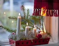 Seguridad de la Navidad Imágenes de archivo libres de regalías