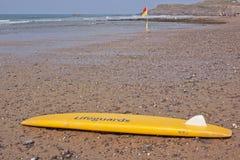 Seguridad de la playa Foto de archivo libre de regalías