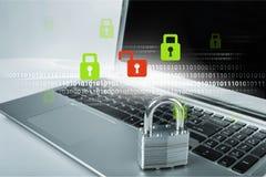 Seguridad de la red Fotos de archivo libres de regalías