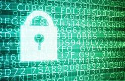Seguridad de la tecnología Imagen de archivo