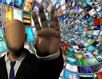 Seguridad de los media Imagen de archivo libre de regalías