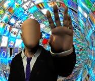 Seguridad de los media Foto de archivo libre de regalías