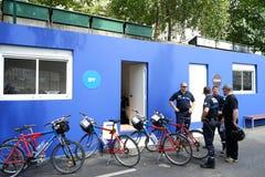 Seguridad de los Plages de París Fotografía de archivo libre de regalías