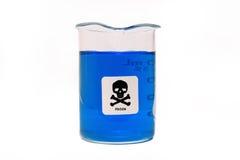 Seguridad de los productos químicos Foto de archivo