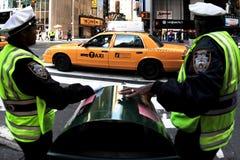 Seguridad de Nueva York Imagen de archivo libre de regalías