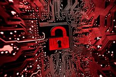 Seguridad de ordenador imágenes de archivo libres de regalías