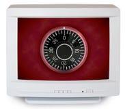 Seguridad de ordenador Fotografía de archivo