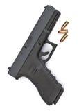 Seguridad del arma de fuego Foto de archivo libre de regalías