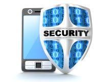 Seguridad del blindaje del abd de PDA Foto de archivo