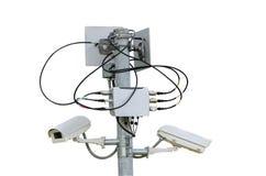 Seguridad del CCTV Fotografía de archivo libre de regalías
