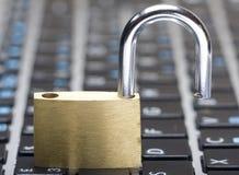 Seguridad del Cyber Fotos de archivo