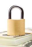 Seguridad del dinero Foto de archivo
