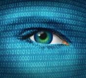 Seguridad del Internet ilustración del vector
