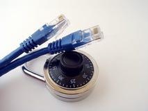 Seguridad del Internet fotografía de archivo