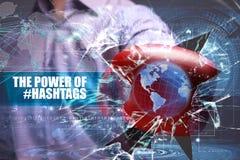 Seguridad del negocio, de la tecnología, de Internet y de la red el poder o imagen de archivo