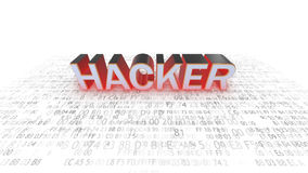 Seguridad del ordenador hackers Seguridad en juego hacker libre illustration