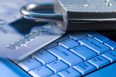 Seguridad del Ordenador-Internet Imágenes de archivo libres de regalías