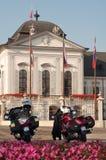 Seguridad del palacio presidencial Imagen de archivo libre de regalías