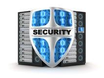 Seguridad del servidor stock de ilustración