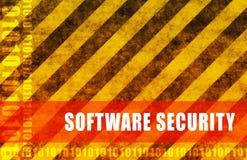 Seguridad del software ilustración del vector