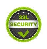 Seguridad del SSL ilustración del vector