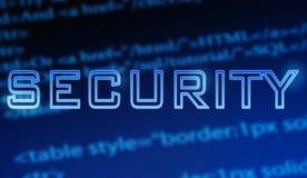 Seguridad del Web de Internet Foto de archivo