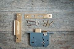 Seguridad en el hogar con el espacio de la copia Imagen de archivo libre de regalías
