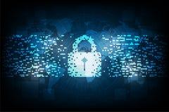 Seguridad en formato digital Fotos de archivo libres de regalías