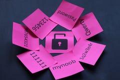 Seguridad en línea Fotografía de archivo libre de regalías