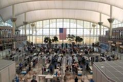 Seguridad en la terminal de aeropuerto Fotografía de archivo libre de regalías