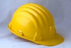 Seguridad-engranaje amarillo fotos de archivo