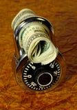 Seguridad financiera Foto de archivo libre de regalías