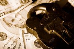 Seguridad financiera Fotos de archivo