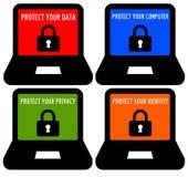 Seguridad informática libre illustration