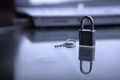 Seguridad para su ordenador Foto de archivo