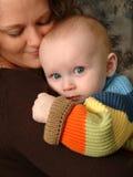 Seguridad Social del bebé Imagen de archivo libre de regalías