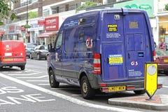 Seguridad Van Fotografía de archivo