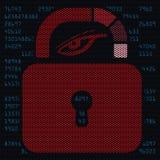 Seguridad y privacidad personales Foto de archivo libre de regalías