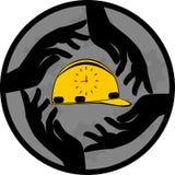 Seguridad y puntualidad Imagen de archivo libre de regalías