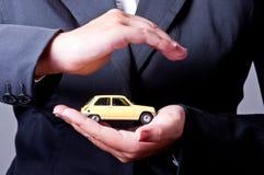 Seguro de coche Foto de archivo libre de regalías